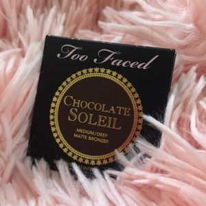 Too faced chocolate bronzer sample size